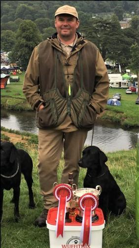 Team winner, Captain and Top Dog Bramble - Gary Collier